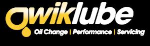 QwikLube Logo white